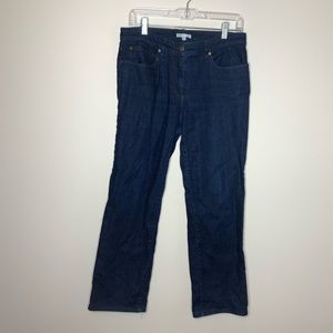 Eileen fisher Medium wash boot cut jeans size 10